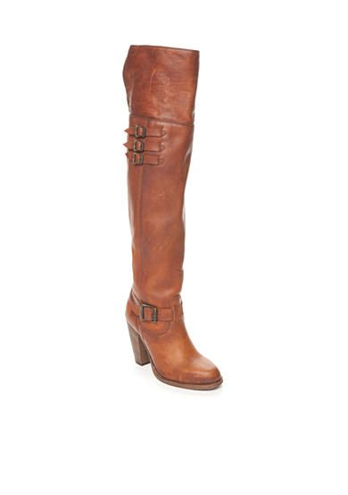 Frye Jenny Belted Over the Knee Boot