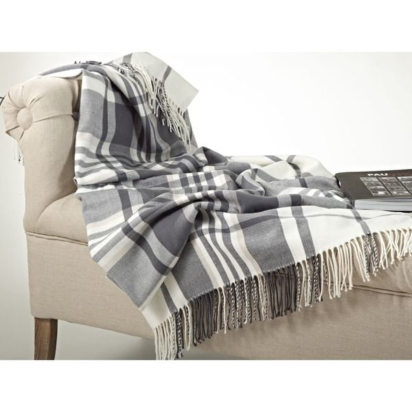 Plaid Design Throw Blanket - Overstock Shopping - Great Deals on Throws