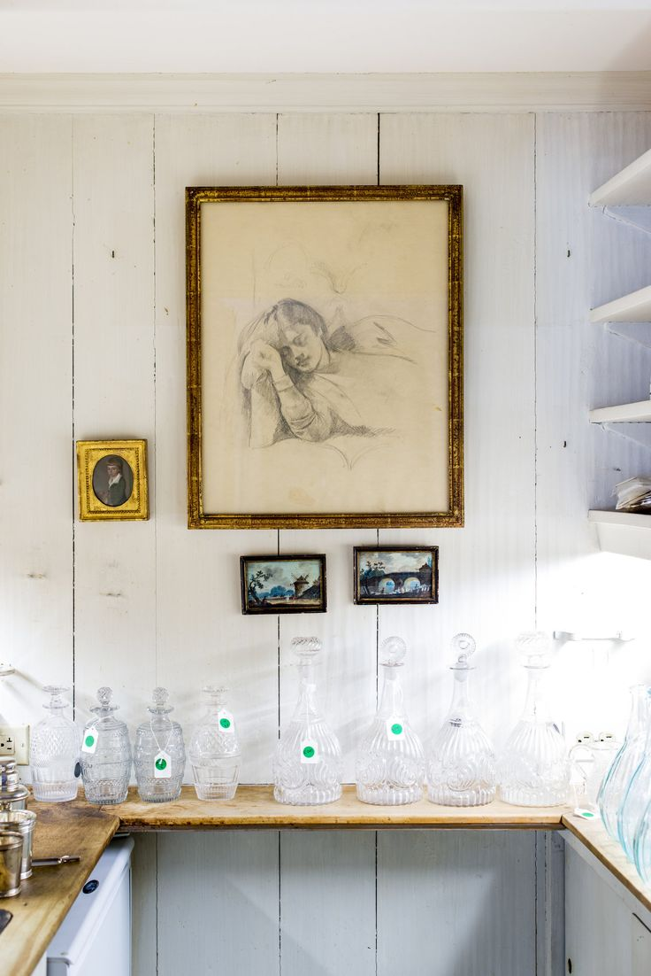 Bunny Mellon's Keen Eye Is a Boon to Sotheby's - NYTimes.com  A double-sided Balthus drawing in the living room.