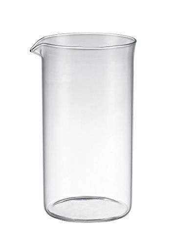 SterlingPro 1000ml 34-ounce 8 cup UNIVERSAL French Coffee Press GLASS REPLACEMENT BEAKER (Fits SterlingPro and the other 8 cup French Press) - http://teacoffeestore.com/sterlingpro-1000ml-34-ounce-8-cup-universal-french-coffee-press-glass-replacement-beaker-fits-sterlingpro-and-the-other-8-cup-french-press/