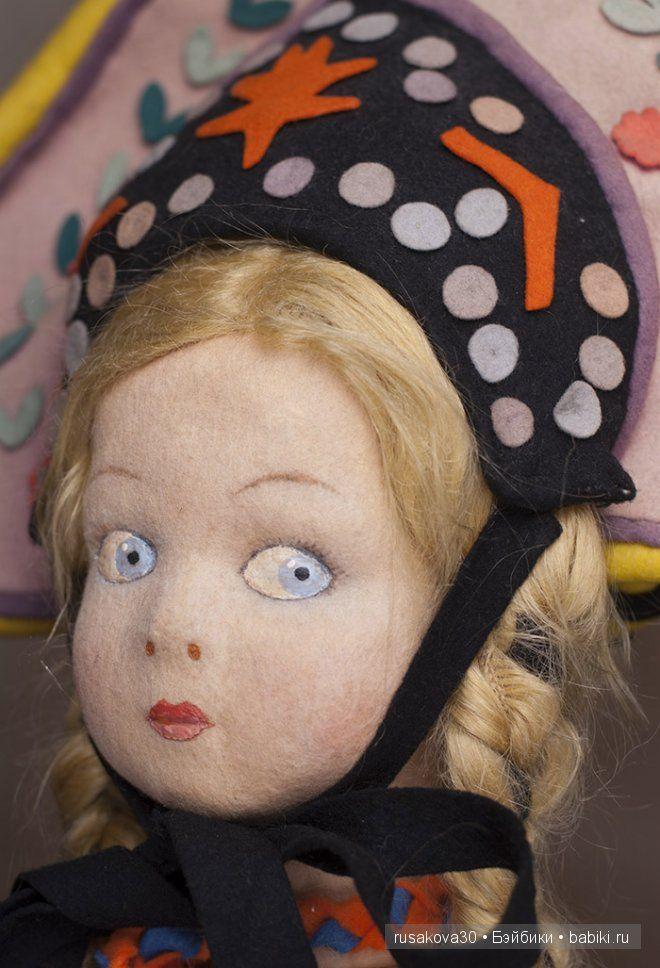 Войлочные куклы Lenci (Ленчи) / Авторская кукла известных дизайнеров / Бэйбики. Куклы фото. Одежда для кукол