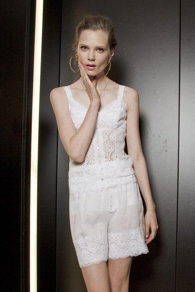 Dolce & Gabbana at Milan Spring 2011 (Backstage)