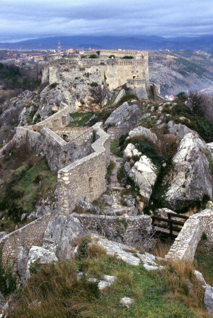 Knin fortress / Croatia / built in the 10th century by Nikola Derežić