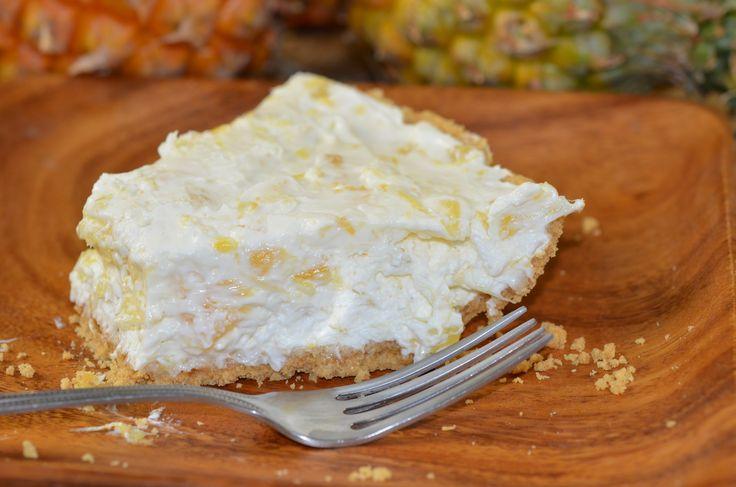 Pineapple Cream Cheese Pie... This stuff is so good!
