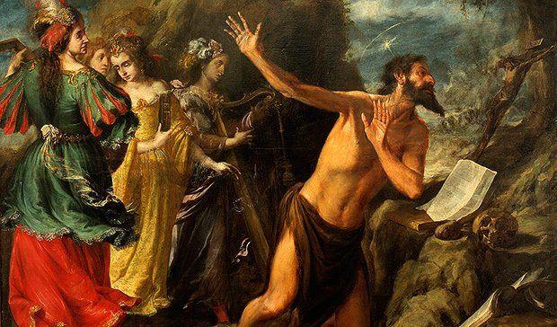 DEL MUSEO DE BELLAS ARTES DE SEVILLA: TENTACIONES DE SAN JERÓNIMO (H. 1657), DE VALDÉS LEAL