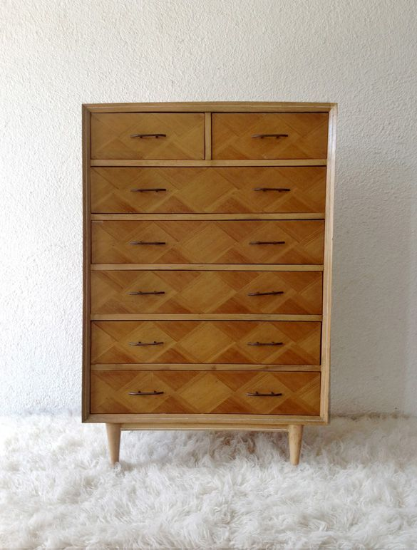 cherrywood chest of drawers ('60) www.vadevintage.com