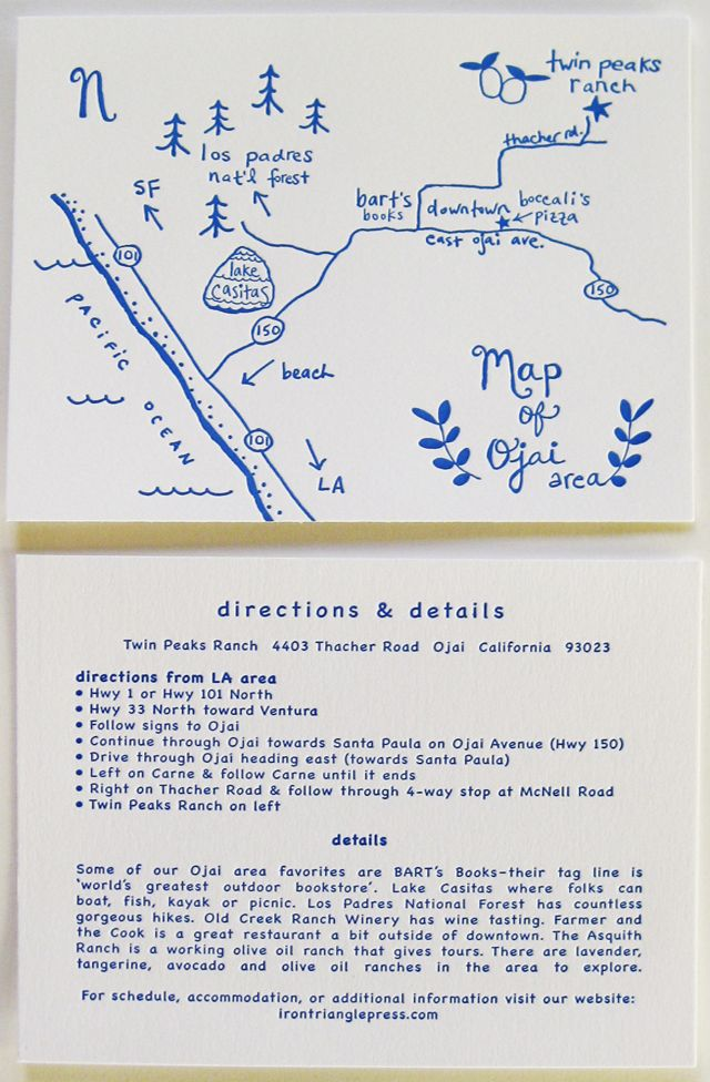 62 best wedding maps images on pinterest wedding cards wedding hand drawn map with illo details for locations stopboris Images