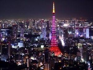 PINK東京タワー : 六本木ヒルズの最上階から見た夜景画像 - NAVER まとめ
