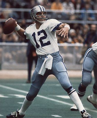 Roger Thomas Staubach (born February 5, 1942) is a former star National Football League quarterback. He attended U.S. Naval Academy where he won a Heisman Trophy. He played with the club during five seasons in which they played in the Super Bowl, four as the primary starting quarterback. He led the Cowboys to victories in Super Bowl VI and Super Bowl XII. He was named Most Valuable Player of Super Bowl VI.  He was named to the Pro Bowl six times during his 11-year NFL career.