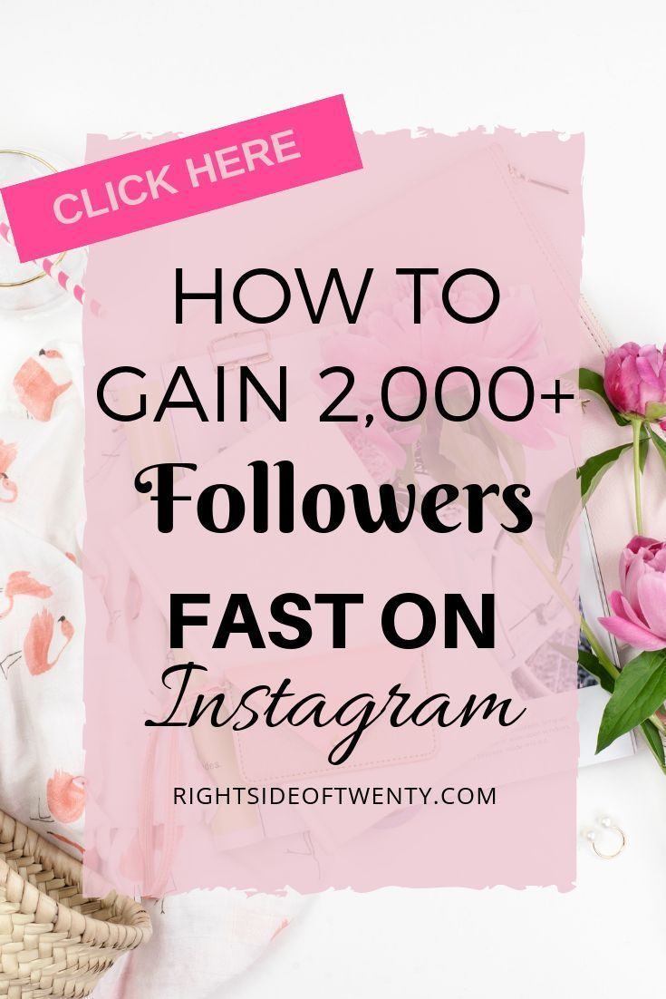 How I Gained 2,000 Instagram Followers Fast – Right Side of Twenty – Blogging For Beginners