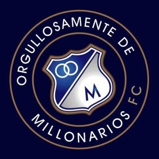 Soccer: MILLONARIOS LOGO fron Best team in Bogota-Colombia