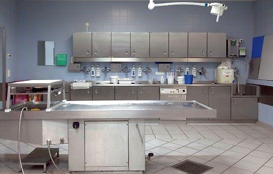 Autopsy suite (via Ärzteblatt.de)