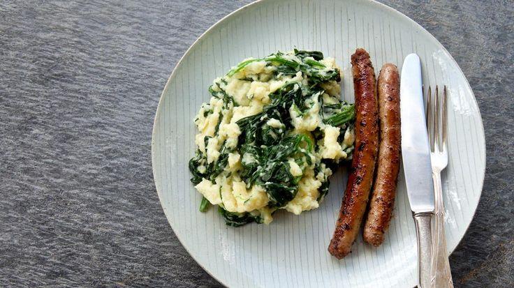 Chipolata met spinaziestoemp | VTM Koken