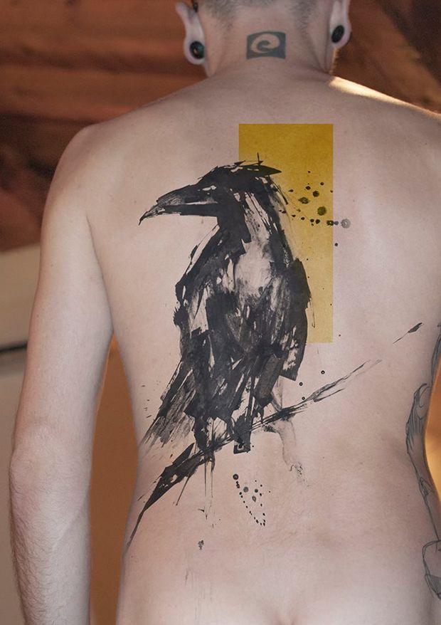 #tattoofriday - Niko Inko (França) une diversos estilos e técnicas para criar tatuagens incríveis;