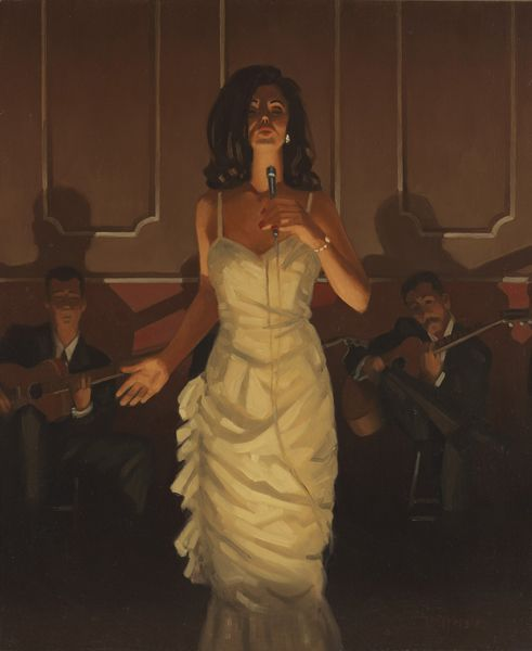 """Jack Vettriano, """"Singin' the Blues', painted in 1997"""