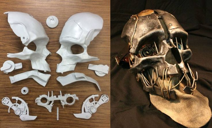 Corvo's mask from Dishonored