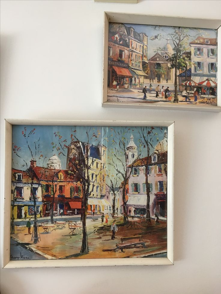 A couple of framed prints - pick up in the antique Centre in Blackheath, Blue Moutains
