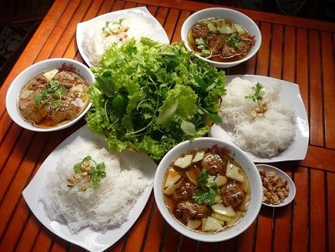 Bun cha was considered a specialties of Hanoi