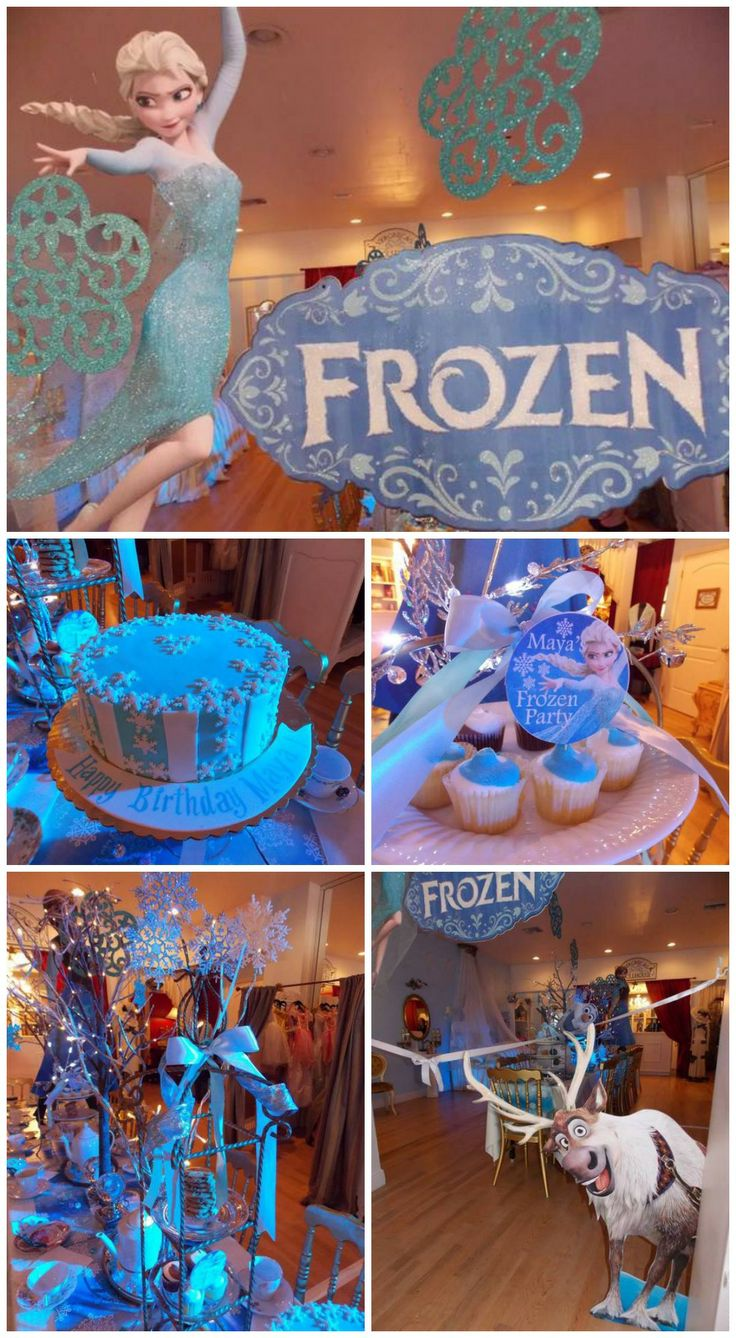 Great ideas for a Frozen birthday party
