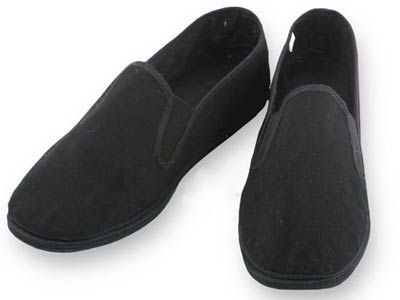 Traditional Kung Fu Shoes - Black