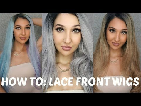 HOW TO WEAR LACE FRONT WIGS by Powder Room D || HOW TO MAKE A WIG LOOK REAL/WIG HAUL - YouTube