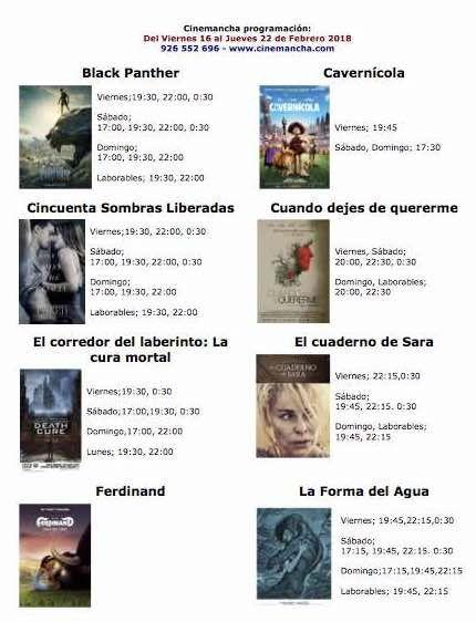 Programación Cinemancha del viernes 16 al jueves 22 de febrero - https://herencia.net/2018-02-16-programacion-cinemancha-del-viernes-16-al-jueves-22-febrero/?utm_source=PN&utm_medium=herencianet+pinterest&utm_campaign=SNAP%2BProgramaci%C3%B3n+Cinemancha+del+viernes+16+al+jueves+22+de+febrero