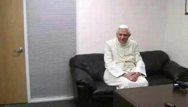 The Pope Looking For A New Job