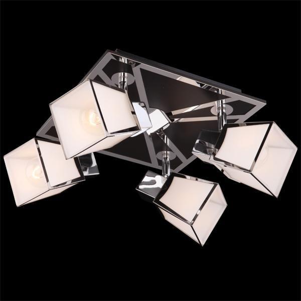 Потолочные и подвесные светильники Споты Потолочный светильник 57021/4 хром/венге
