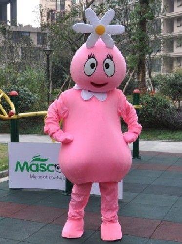 花の姫様、フーファ着ぐるみ ピンク ヨーガバガバのキャラクター着ぐるみ http://www.mascotshows.jp/product/foofa-mascot-adult-costume.html