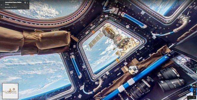 Ya puedes hacer un recorrido virtual por la Estación Espacial Internacional
