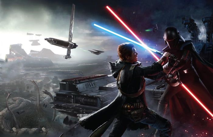 Cal Vs The Second Sister Jedi Fallen Order Star Wars Jedi Star Wars Fallen Order Star Wars Wallpaper