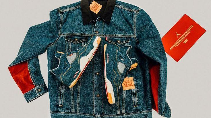 Cool fashion collab alert: Levi's x Jordan Brand