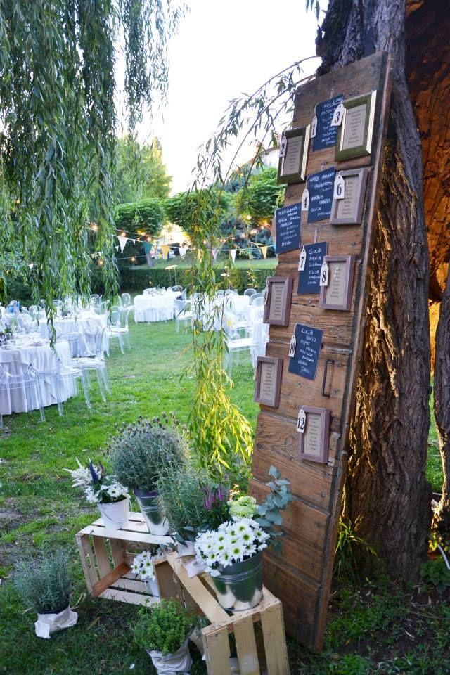 tableau mariage country wedding