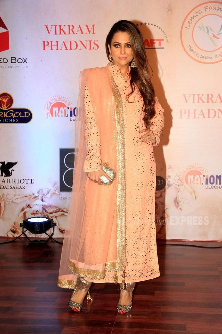 Amrita Arora Ladak at Vikram Phadnis's fashion show. #Bollywood #Fashion #Style #Beauty #Hot #Sexy #Desi #WAGS