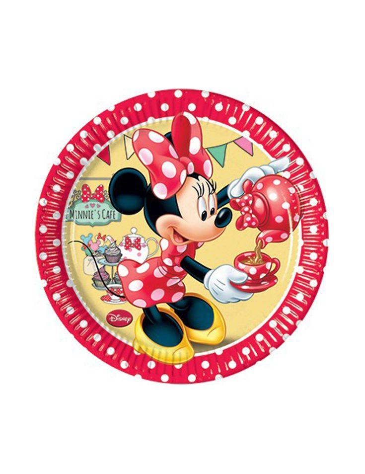 Piattini di Minnie's café™ su VegaooParty, negozio di articoli per feste. Scopri il maggior catalogo di addobbi e decorazioni per feste del web,  sempre al miglior prezzo!