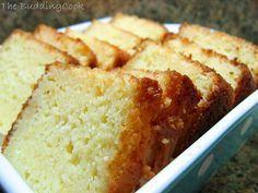 Ina Garten's Lemon Cake:  all-purpose flour, baking powder, salt, plain yogurt, sugar, eggs, lemon, vanilla, vegetable oil + grater, 9x5in loaf pan, 2 bowls, toothpick, cooling rack