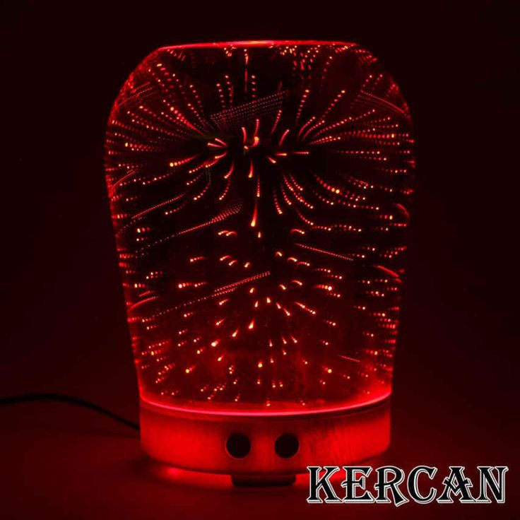 New Essential Oil Aroma Diffuser Ultrasonic Humidifier Aromatherapy 3D Effect  #Kercan #Modern