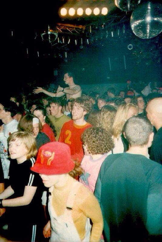 Rave acid house hacienda