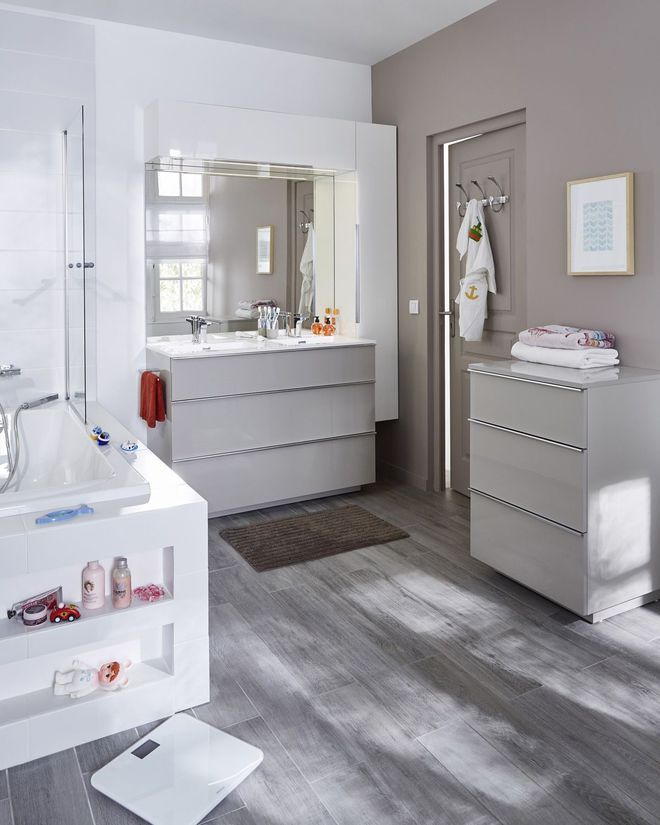 28 best salle de bain images on Pinterest Bathroom, Bathrooms and - devis carrelage salle de bain