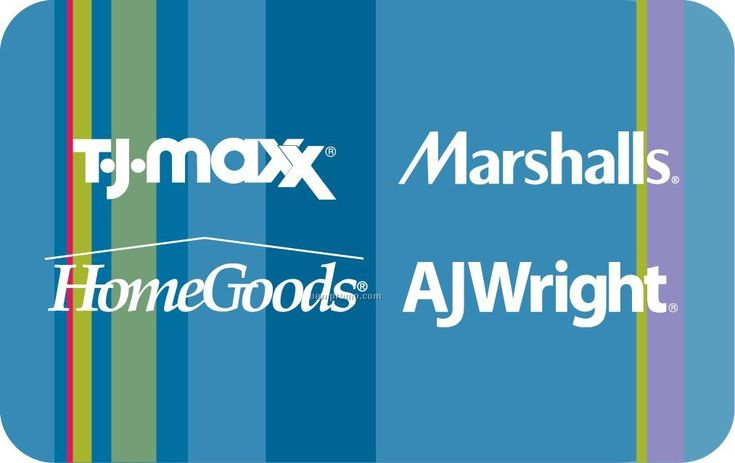 $10 Homegoods Gift Card (Giftcard to wither TJ Max or Marshals, or both!!!)