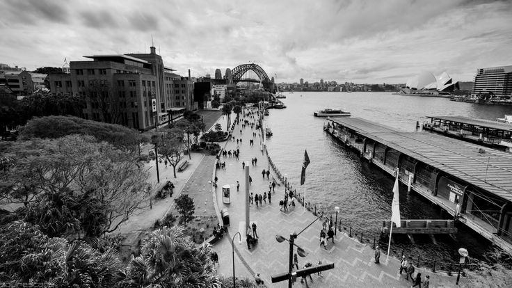 The Museum of Contemporary Art, Sydney Harbour Bridge, Circular Quay and The Royal Opera House by Matthew Squire on 500px