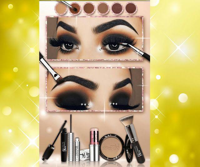 جرب مكياج لوريال وميابيلين على وجهك قبل شراءه على هذا التطبيق في المغرب تخفيضات على مواقع البيع على الأنترنيت في الم In 2021 Halloween Face Makeup Makeup Face Makeup