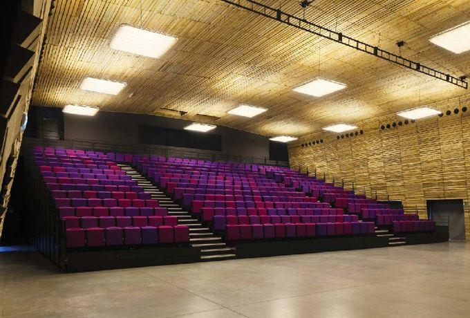 La Boiserie, salle polyvalente, Mazan (84) - D'architectures