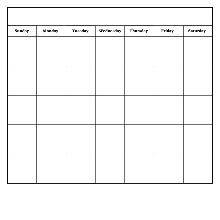 DIY dry erase calendar Monthly calendar template, Pdf and Template