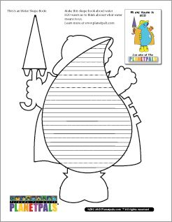 It's WORLD WATER DAY Today! 3 Planetpals Eco Shape books FREE PRINTABLE-Including one for World Water Day March 22