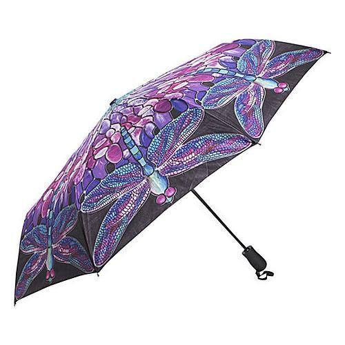 Galleria Tiffany Dragonfly Folding Umbrella. 23,99 dollars