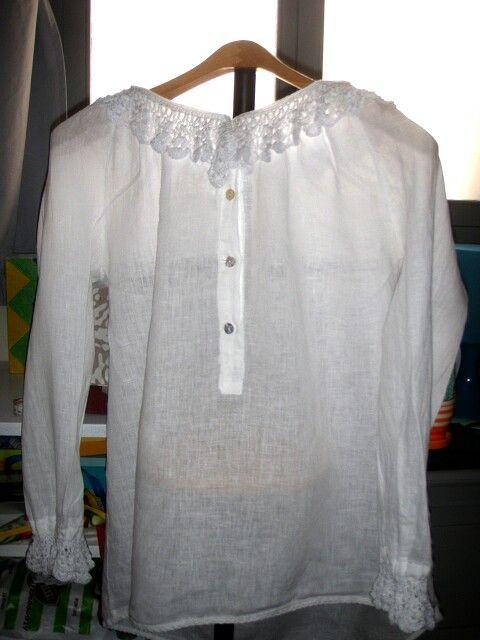 Camisa traje de baturra