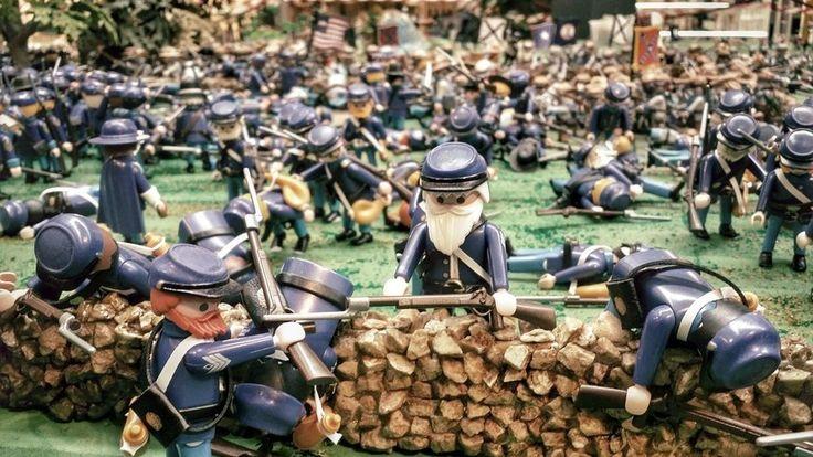 Batalla Gettysburg Playmobil diorama