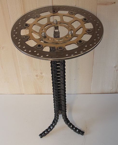 Tafel Hoogte 60 Cm.Industriele Tafel Een Tafel Met Transparant Kunststof Blad Op Een