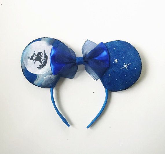Disney Peter Pan Ears by ToNeverNeverland- these are really pretty, too!